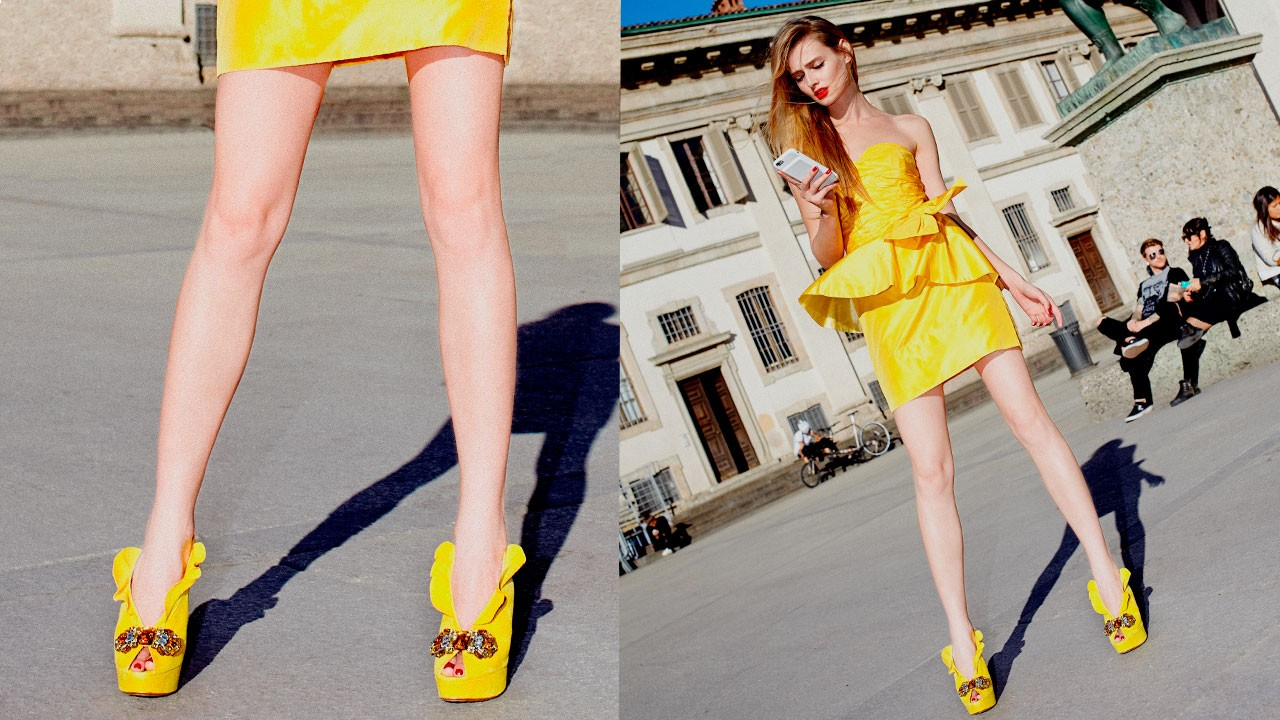 Cherie ruffles sandal