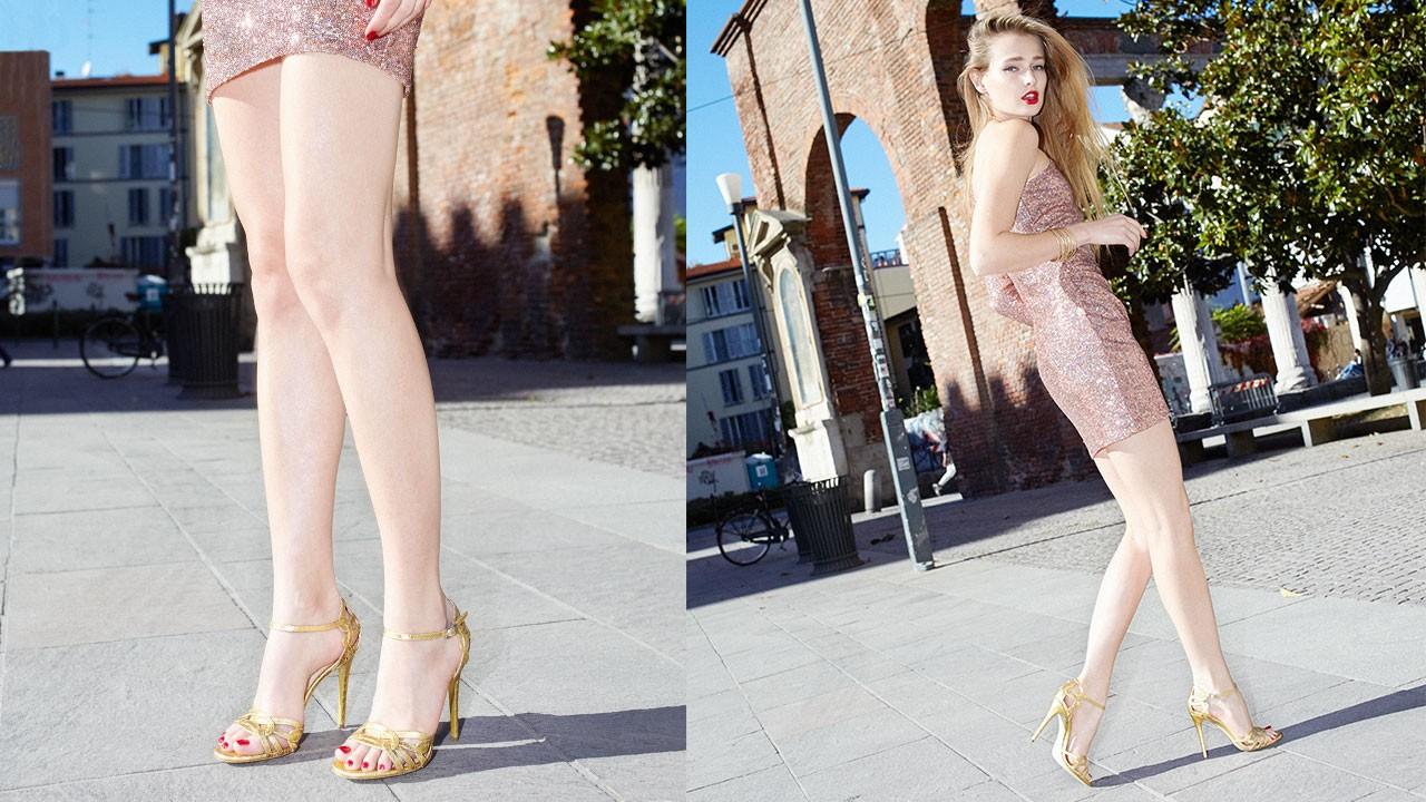 Alexandra peep toe stiletto sandal